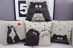 Cute Cats Cushion Cover