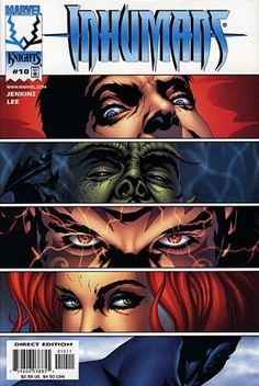 THE BEST VERSION OF THE INHUMANS TO DATE!!!  Inhumans (1998 series) #10