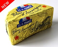 Discover a delicious PDO #French blue cheese that's incredibly soft and creamy. Made in France with time-honored methods, Ile de France Bleu d'Auvergne has an irresistibly distinctive taste! #Bluecheese