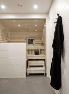 Inspiraatio: mikrosementti kylpyhuoneen lattiapinnassa