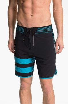 Hurley  Phantom 60 Black Party Fuse  Board Shorts available at  Nordstrom 875fe14f104