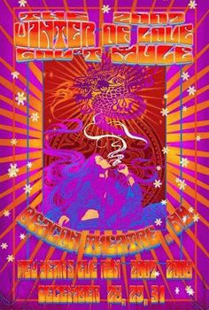Original concert poster for Gov't Mule at The Beacon Theatre in New York City, NY for New Years in 2007.  13 x 19.25 inches. This is a 3D/animated lenticular. It must be seen to be believed!