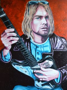 Kurt Cobain - Nirvana For Sale £1770