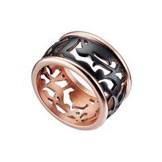Ένα κομψό δαχτυλίδι που απεικονίζει το μοναδικό διάτρητο μοτίβο της συλλογής Arabesque.