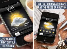 Display Live Weather Info On The Lock Screen Of Non-Jailbroken Devices