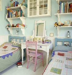 Country Style Bohemian Bedroom Idea For Kids