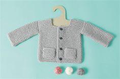 Babies Knitting Patterns Jacket Pattern 336.281 - Pattern $3