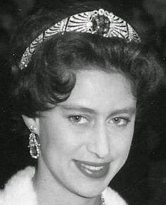 Tiara Mania: Sapphire Bandeau Tiara worn by Princess Margaret, Countess of Snowdon