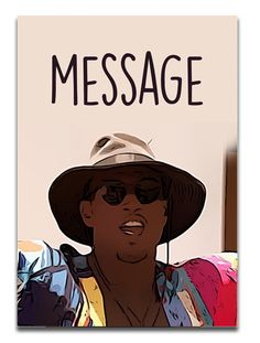 "Ovie ""Message"" Love Island Card 