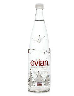 Evian Christmas Water