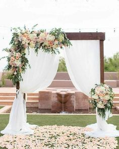 Female flower wedding in the Arizona desert - Wedding. - Female flower wedding in the Arizona desert – Wedding. – # Arizona desert wedding t - Wedding Ceremony Arch, Wedding Scene, Wedding Church, Table Wedding, Wedding Backyard, Indoor Wedding, Party Wedding, Wedding Ideas, Wedding Bride
