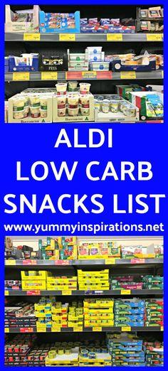 ALDI Low Carb Snacks List - Ketogenic Diet Snack Food Ideas & Video keto food list for ketogenic diet Best Healthy Diet, Best Diet Foods, Best Keto Diet, Healthy Diet Recipes, Keto Foods, Healthy Smoothies, Healthy Options, Healthy Fats, Low Carb Snacks List