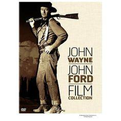 THE SEARCHERS (1956) - John Wayne / John Ford Film Collection - DVD cover art.