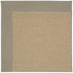 Capel Zoe Machine Tufted Buff/Brown Area Rug Rug Size: 9' x 12'