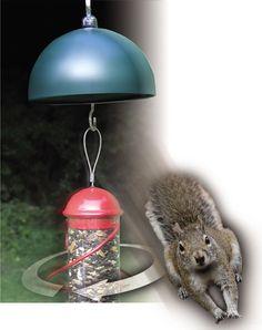 Twirl-A-Squirrel Squirrel-Proof Bird Feeder- www.wildbirdshops.com