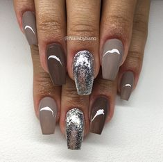 "Visit our website for even more details on ""gel nail designs for fall autumn"". It is actually an exceptional place for more information. Glam Nails, Classy Nails, Hot Nails, Fancy Nails, Stylish Nails, Trendy Nails, Gel Nail Art Designs, Colorful Nail Designs, Ombre Nail Designs"