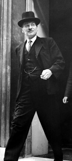 Clement Attlee.  3 January 1883 – 8 October 1967.