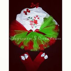 Check out this item in my Etsy shop https://www.etsy.com/listing/264899560/1st-christmas-tutu-set