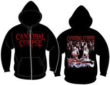 Cannibal Corpse Butchered at Birth Zip Hoodie for $44.95  http://www.jsrdirect.com/merch/cannibal-corpse/butchered-at-birth-ziphood  #cannibalcorpse #metalmerch #butcheredatbirth #ziphoodie #metalziphoodie
