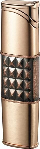 Lighters - Visol Miranda Satin Copper Torch Flame Cigar Lighter For Women - Oxemize.com