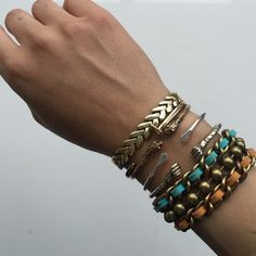 Dannijo Bracelet Hardly worn Dannijo bracelet. Clasp closure. Plated metal and suede lacing. In great condition. DANNIJO Jewelry Bracelets