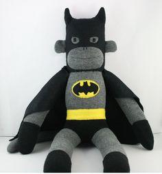 Batman+the+Sock+Monkey++Made+to+order+by+YouMakeMeMe+on+Etsy,+$38.00