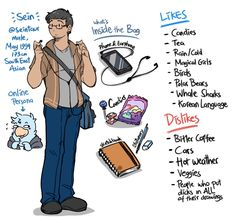 What In My Bag, Korean Language, Conception, Meet The Artist, Character Art, Sketches, Random, Drawings, Beautiful