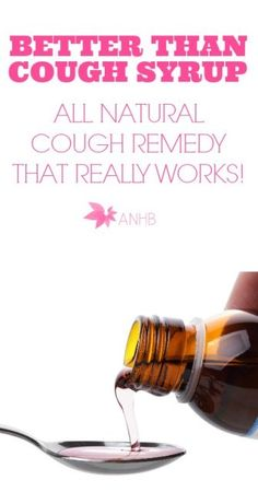 This all natural cough remedy is way better than cough syrup!