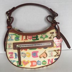 Dooney & Bourke Bag Designer Fashion MulticolorHappy Gift  Hip   | eBay