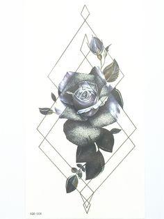 Beautiful Sexy Flower Tatuagem Tattoo Body Art Flash Tattoo Stickers 21*11 cm Waterproof Temporary Fake Tattoo for Men and Women-in Temporary Tattoos from Beauty & Health on Aliexpress.com | Alibaba Group
