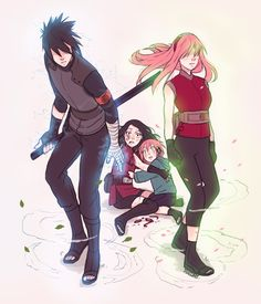 Not a Sasusaku fan, but this is soooooo good! If someone dared thouch their children, they would wreck everything!