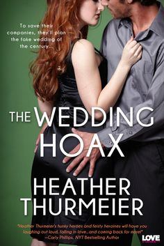 In The Wedding Hoax by Heather Thurmeier, ex lovers Dai…