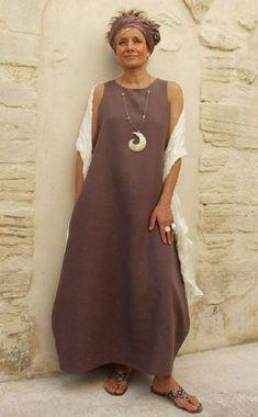 Выкройка платья «трапеция бохо» 40-64