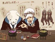 One Piece z Harry Potter || Anime crossover