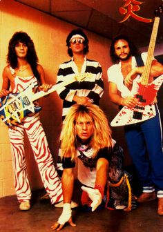 I'm having a Van Halen moment, it'll probably be over soon. lol