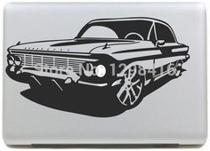 "Super Cool CAR  series Vinyl Decal Sticker Skin for Apple MacBook Pro Air Mac 13"" inch Laptop Skins"