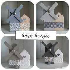 Houten molentjes van hippe huisjes! www.hippehuisjes.nl