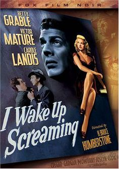 Vintage Film Noir Movie DVD Covers | Wake Up Screaming (Fox Film Noir) Movie Poster