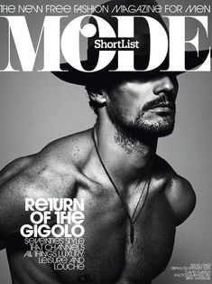 Mode - David Gandy --- I'm thinking @Beth DuFault will like this one.  And he has some chest hair ;)
