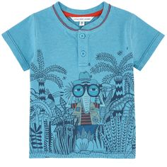 T-shirt with a print - 155555