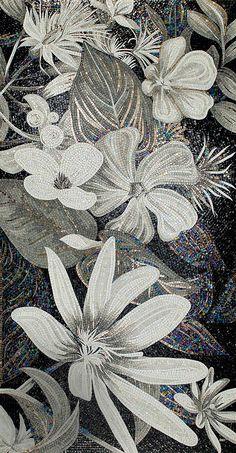 Black & White SICIS mosaic