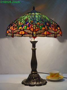 Dragonfly Tiffany Lamp18S4-1GT305