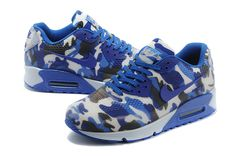 Nike Air Max 90 Camo Blue $119.99