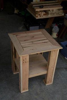 End Table Design Gallery In 2020 With Images Pallet End Tables