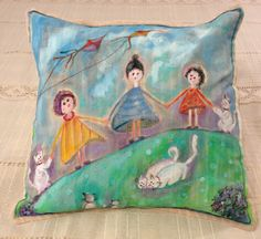 Pillow , painting art
