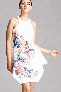 Selfie Leslie Floral Mini Dress Floral Prom Dresses e5efbccfc