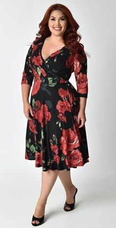 d40100bfed35 Modelos de Vestidos Plus Size - Você sempre linda! Ragazze Taglia  ExtraAbbigliamento Taglie FortiDonne ...
