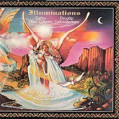 Devadip Carlos Santana / Illuminations (Front Cover)