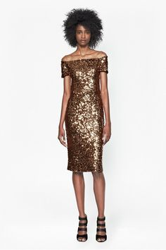 French Connection Cosmic Sparkle Midi Dress
