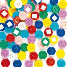 Self-Adhesive Craft Buttons